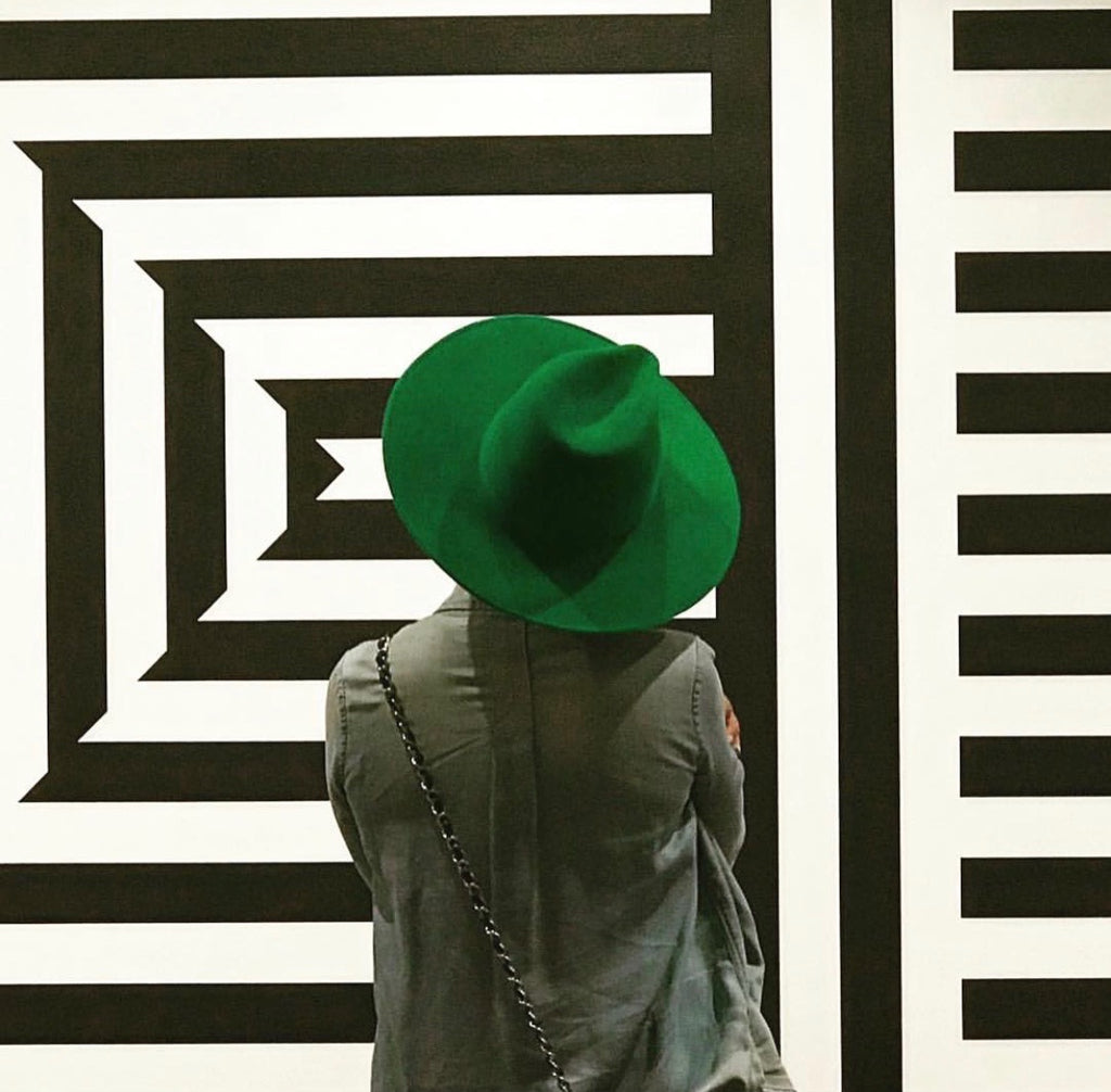 Fashion Bomb Daily x Frances Grey Green Fedora Angie Hat