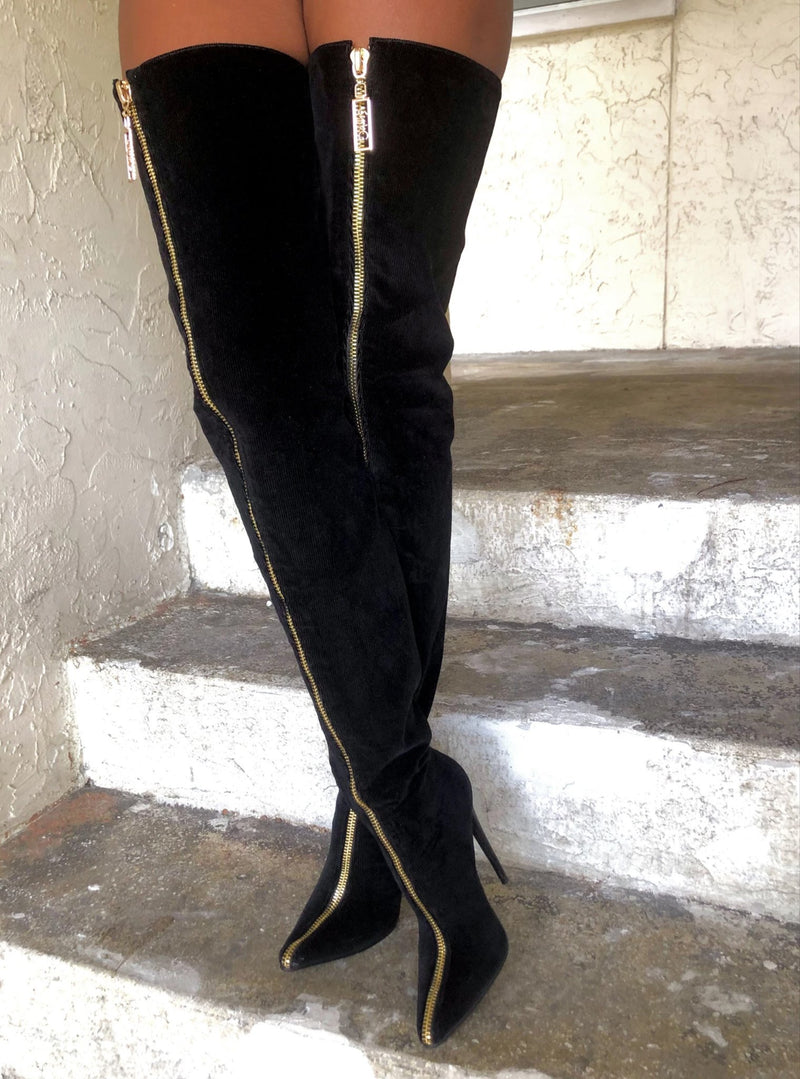 SybGCo Top of the Line Thigh High Boots