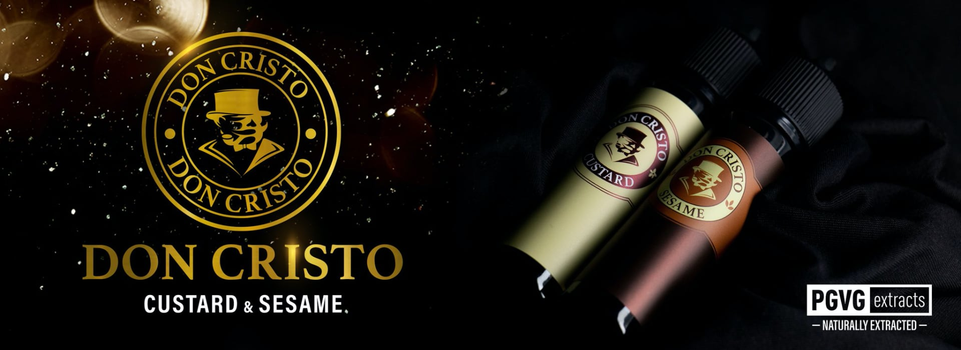 New Don Cristo Sesame and Custard eJuices