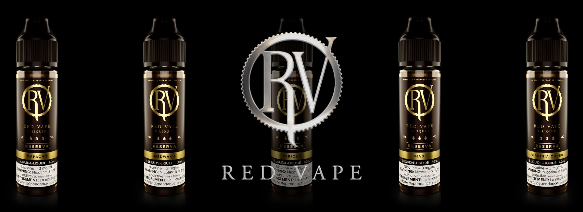 Red Vape eLiquids - Naturally Extracted Tobacco