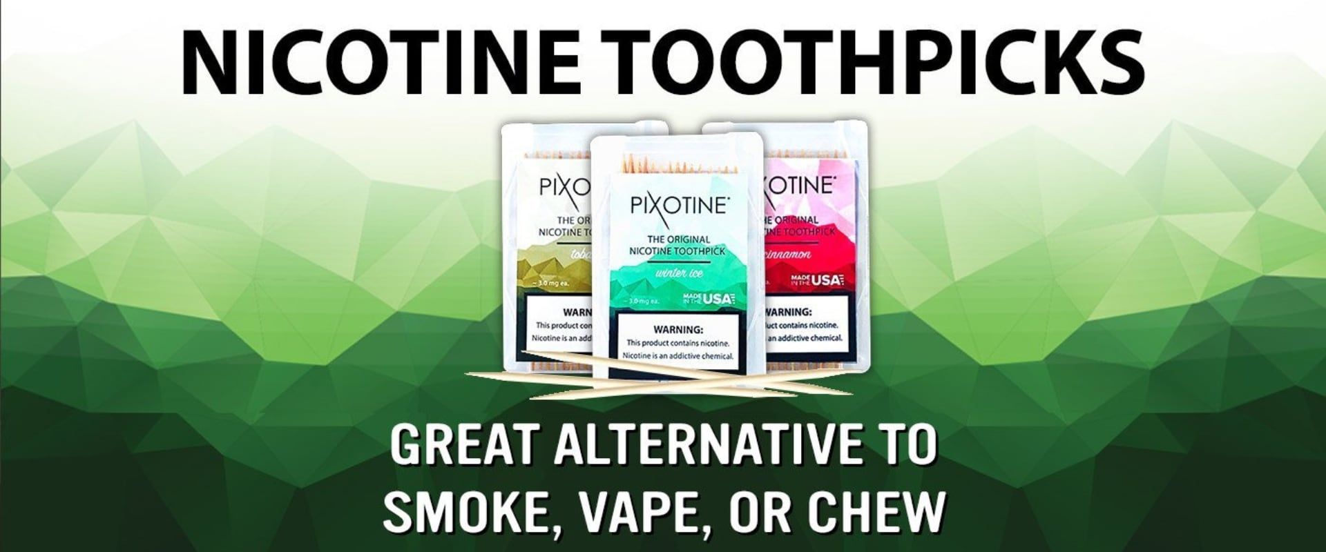Nicotine Pouches, Lozenges and Toothpicks Canada