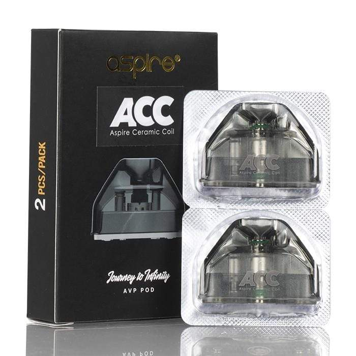 Aspire AVP Replacement Pods (2 Pack) 1.3ohm Ceramic eJuice Accessories