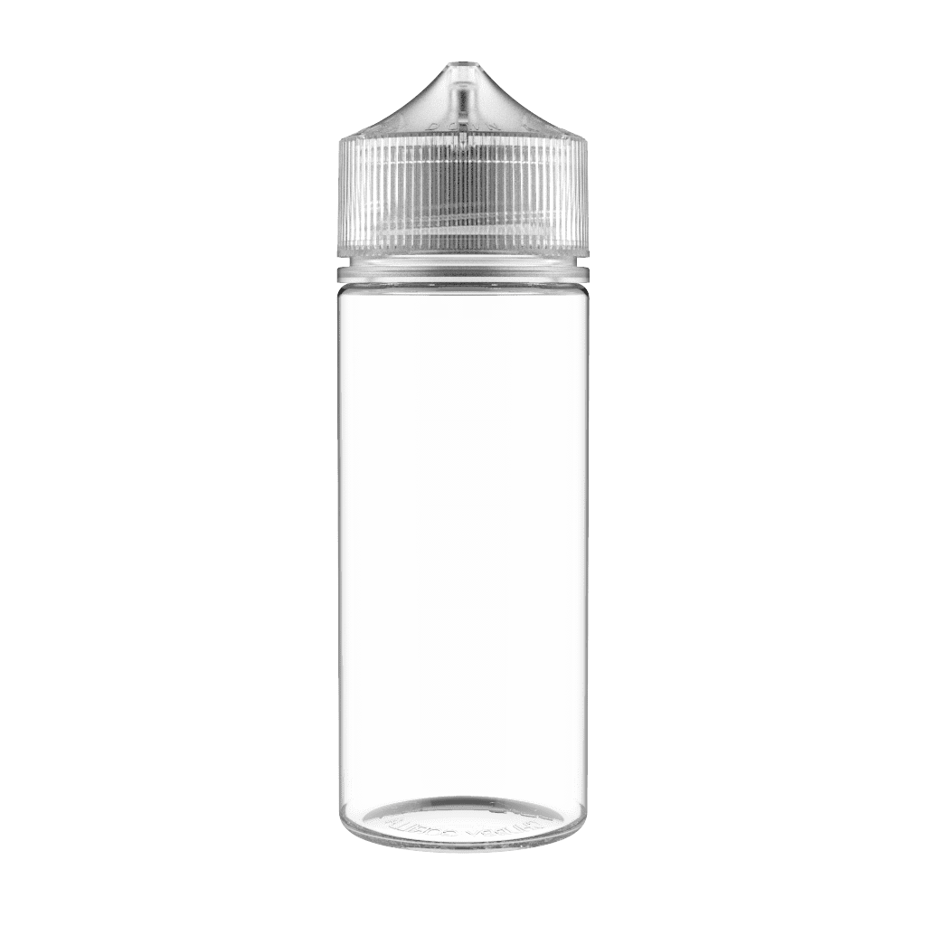 Chubby Gorilla eJuice Accessories 120ml Clear Chubby Gorilla Bottle (PET)