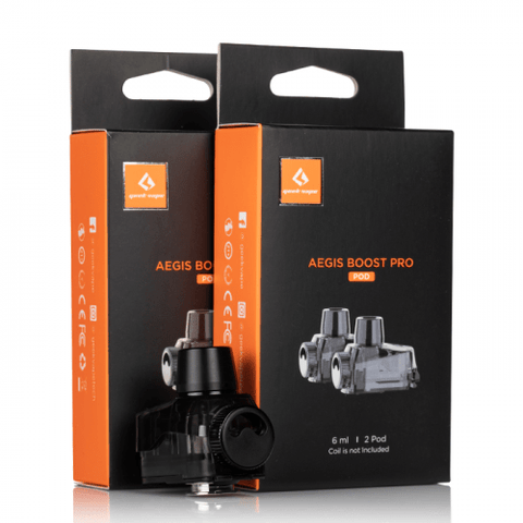 Geekvape Aegis Boost Pro Replacement Pods (2 Pack) eJuice Accessories