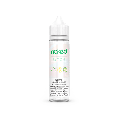 Green Lemon (Naked100) 60mL - No Nicotine eJuice