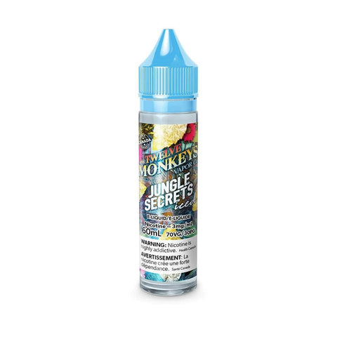 Jungle Secret Iced (Twelve Monkeys: Ice Age) 60mL - 0mg/mL eJuice