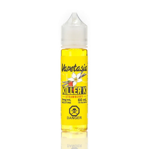 Killer K Strawberry (Vapetasia) 60ml - Strength: 3 mg/ml (Ultra Low) eJuice