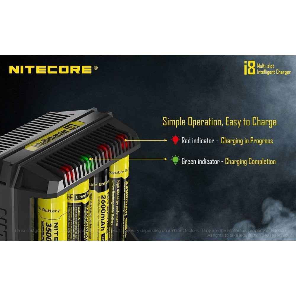 Nitecore eJuice Accessories Nitecore i8 Intellicharger