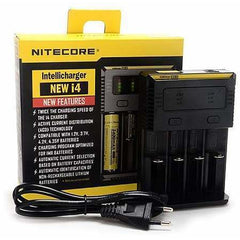 Nitecore eJuice Accessories Nitecore NEW i4 Intellicharger