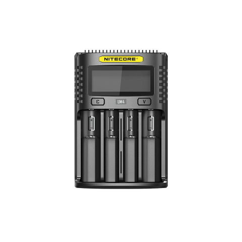 Nitecore UM4 Intelligent Charger 4 Slot eJuice Accessories
