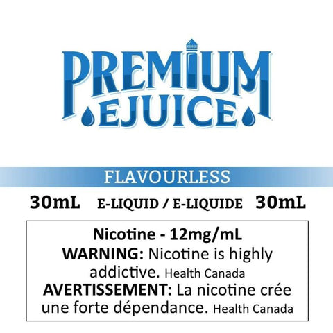 Premium Flavourless eJuice eJuice