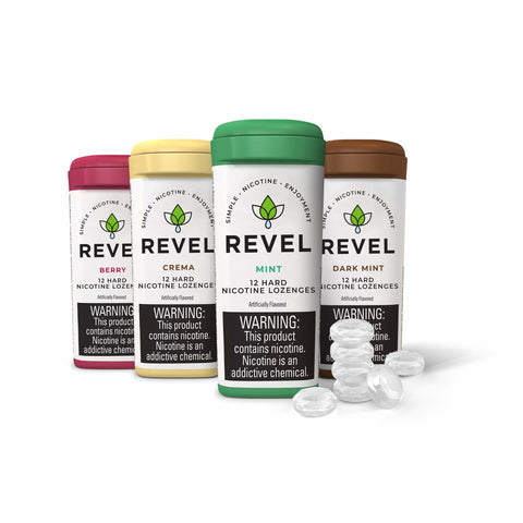 Revel Hard Nicotine Lozenges eJuice