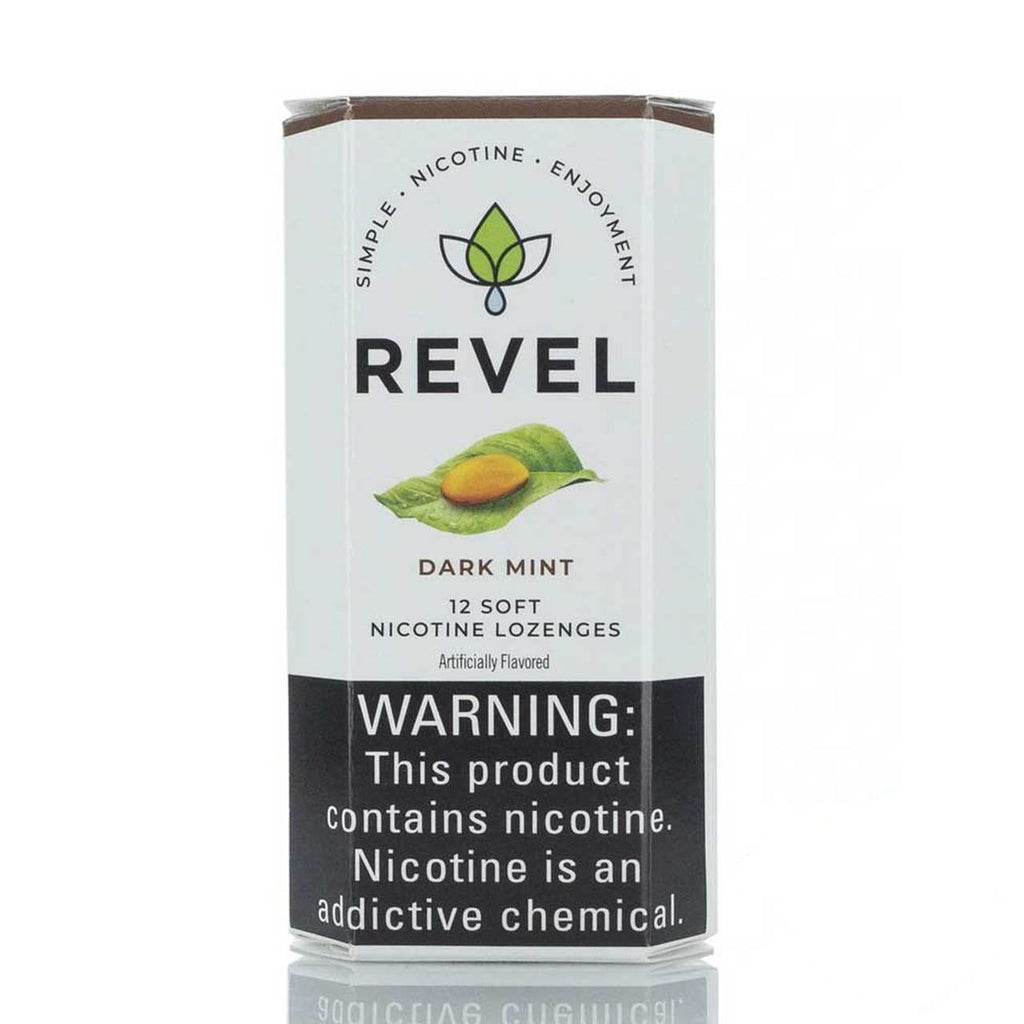 Revel Soft Nicotine Lozenges Dark Mint eJuice