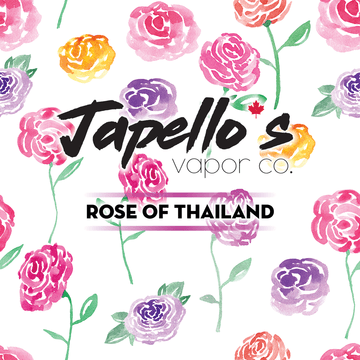 Rose of Thailand (Japello's Vapor Co.) 60ml - Strength: 3 mg/ml (Ultra Low) eJuice