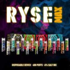 Ryse MAX Disposable Pod Device (3mL / 450mAh) (6%) eJuice