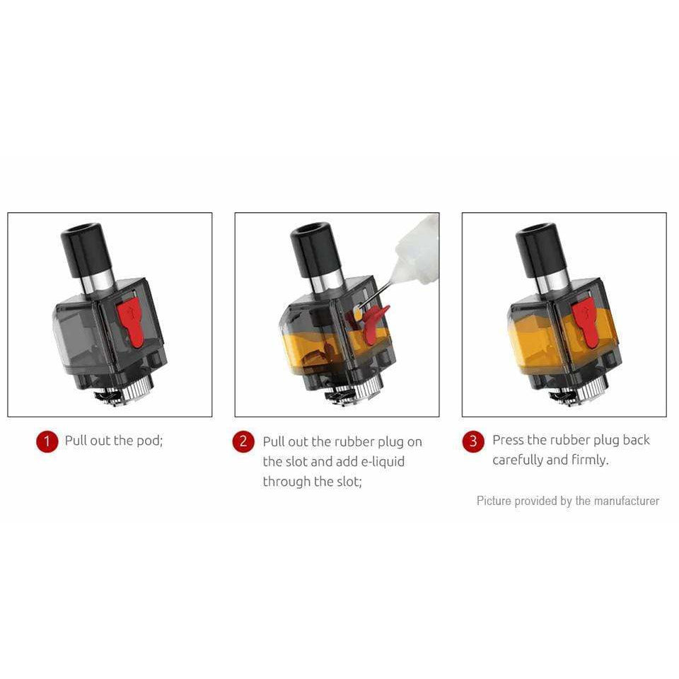 SMOK Fetch Pro Replacement Pods (3 Pack) eJuice Accessories