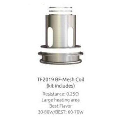 SMOK TF Tank Replacement Coils (3 pack) BF-Mesh 0.25ohm eJuice Accessories