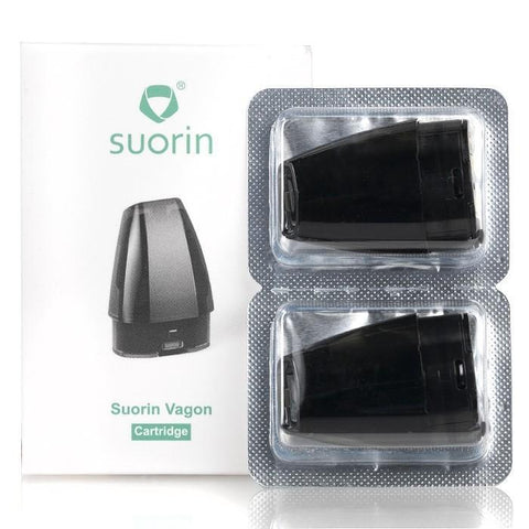 Suorin eJuice Accessories Suorin Vagon Replacement Cartridges (2 pack)