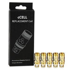Vaporesso eJuice Accessories Vaporesso Ceramic cCELL Replacement Coils - SS316L (5-Pack)