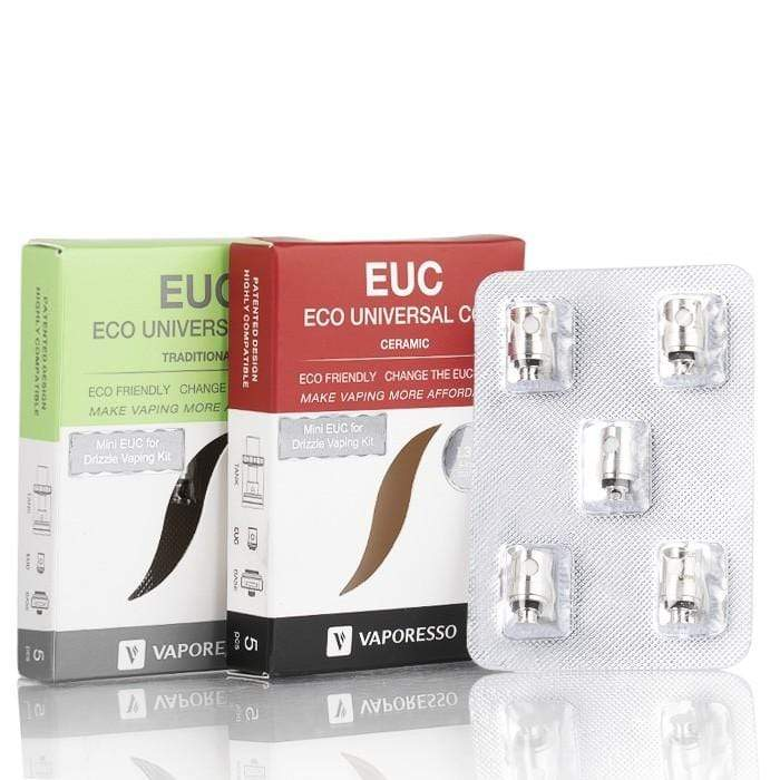 Vaporesso EUC Replacement Coils (5 Pack) eJuice Accessories