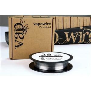VapoWire eJuice Accessories VapoWire Pure Nickel Round - 30ft (Non-Resistance)