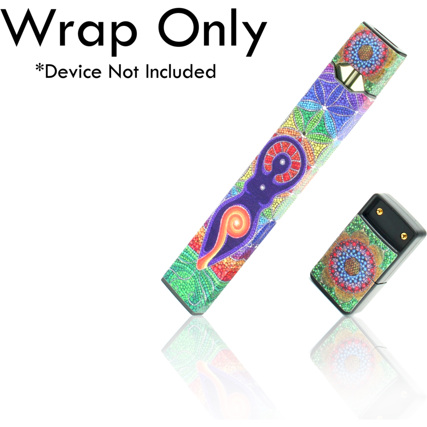 VCG Custom JUUL Wraps Mandala eJuice Accessories