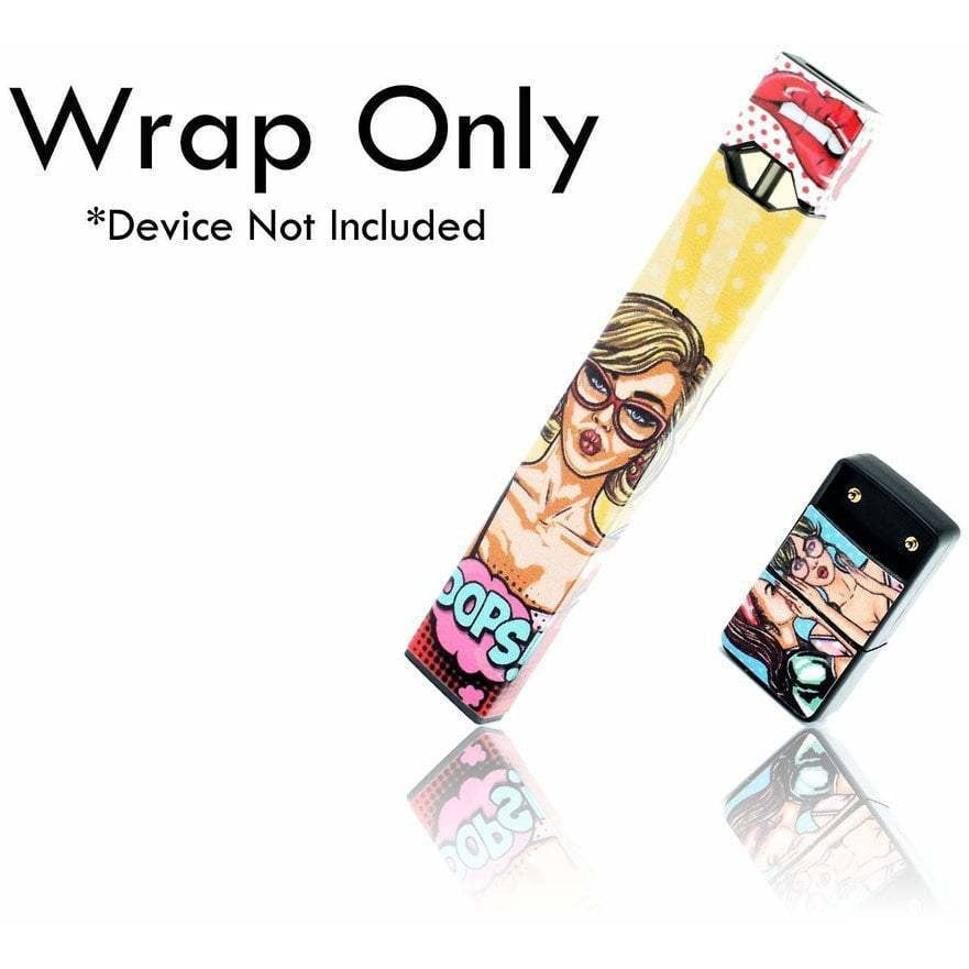 VCG Custom JUUL Wraps Pop eJuice Accessories