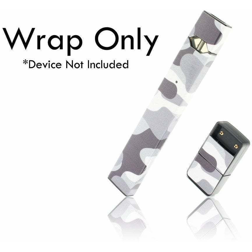 VCG Custom JUUL Wraps Winter Camo eJuice Accessories