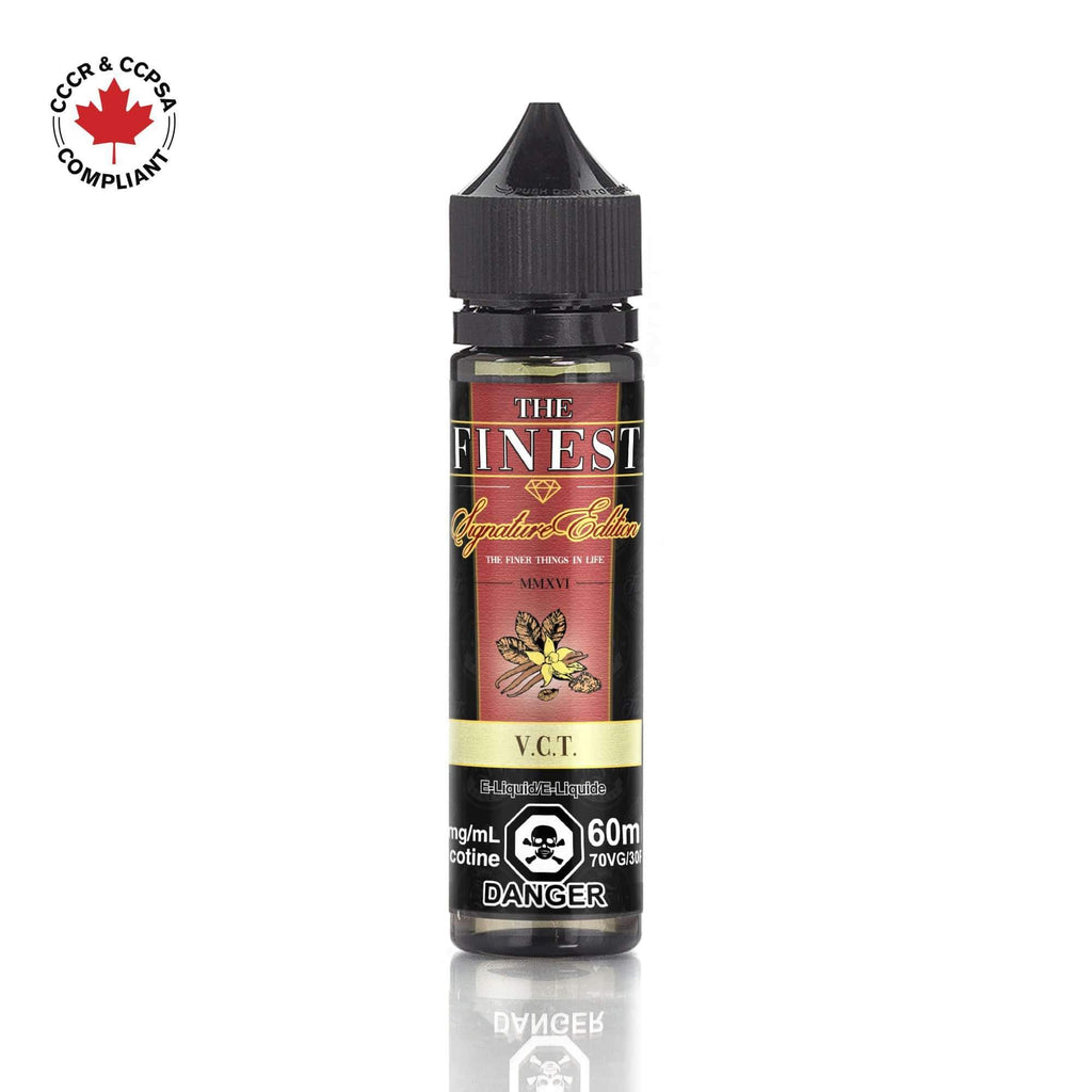 VCT (The Finest) 60ml - Strength: 0 mg/ml (No Nicotine) eJuice