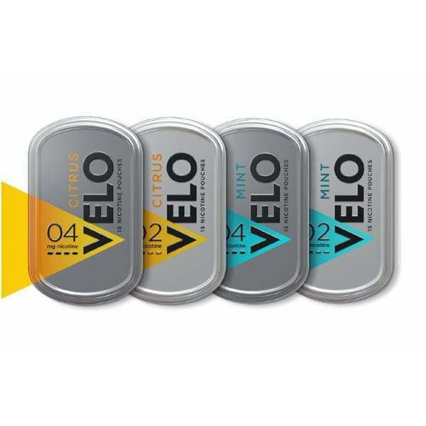 Velo Flavoured Nicotine Pouches eJuice