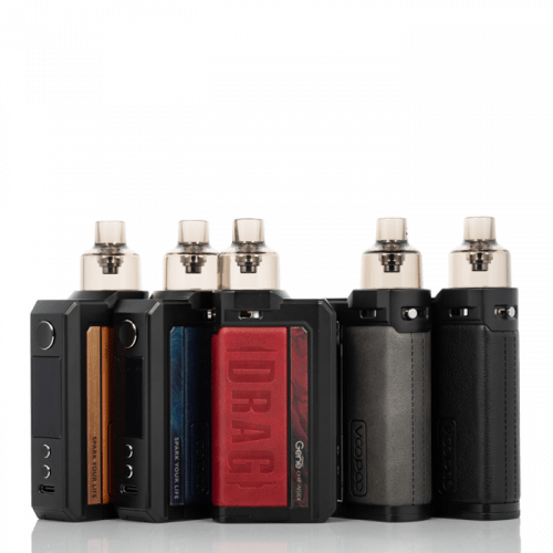 Voopoo Drag Max 177W Pod Kit eJuice Accessories