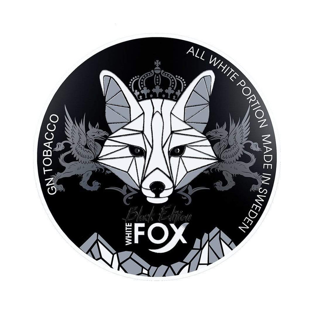 White Fox Black Edition Nicotine Pouches Nicotine Pouches