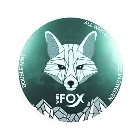 White Fox Double Mint Nicotine Pouches Nicotine Pouches