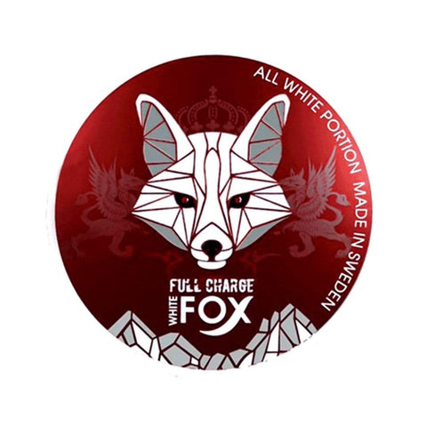 White Fox Full Charge Nicotine Pouches Nicotine Pouches
