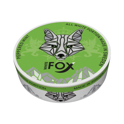 White Fox Peppered Mint Nicotine Pouches Nicotine Pouches