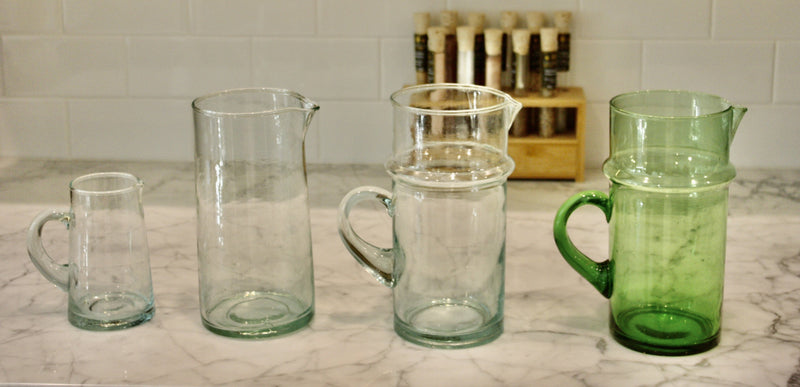 Small Milk Beldi Pitcher Set 2 or 4