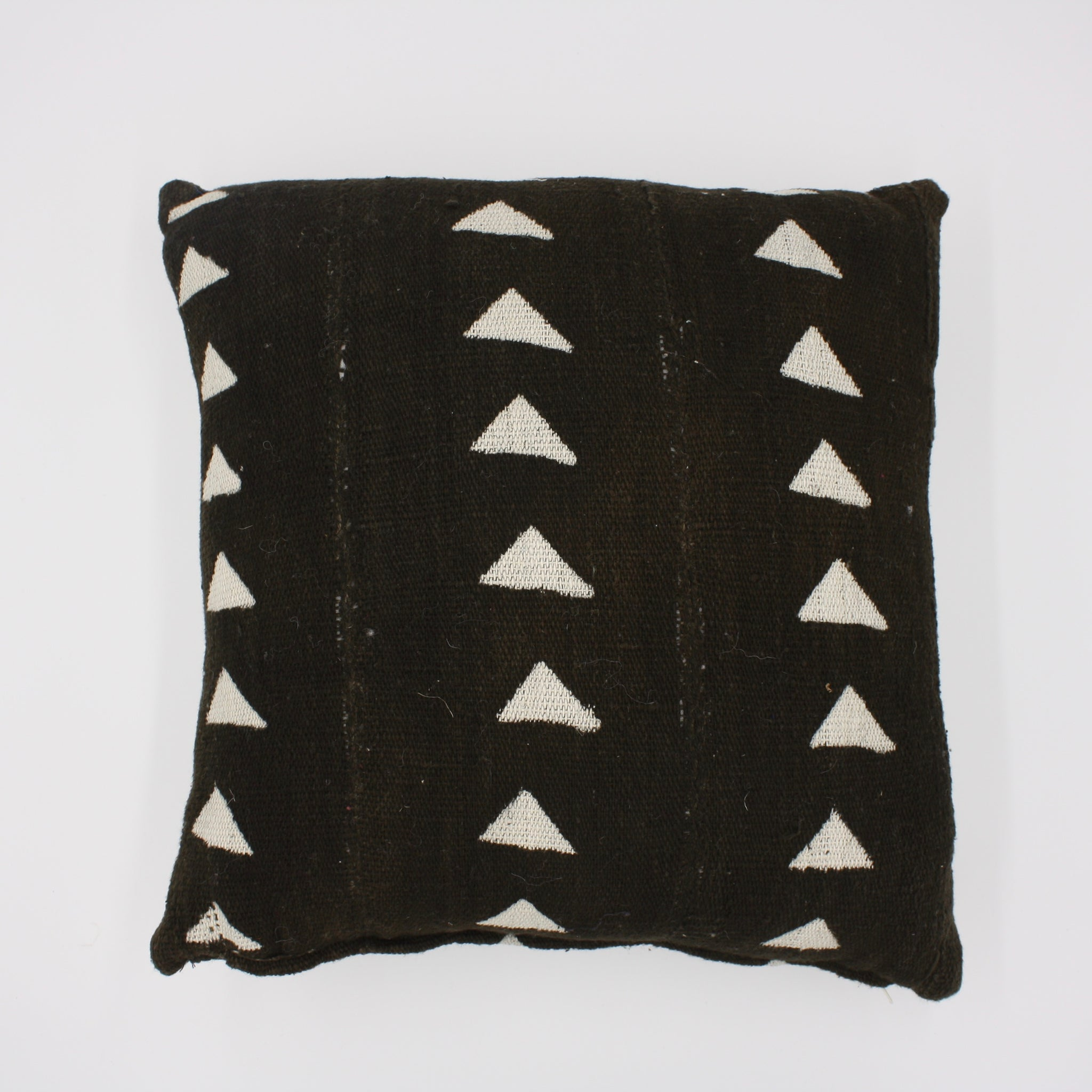 Mali Mud Cloth Pillow - Black