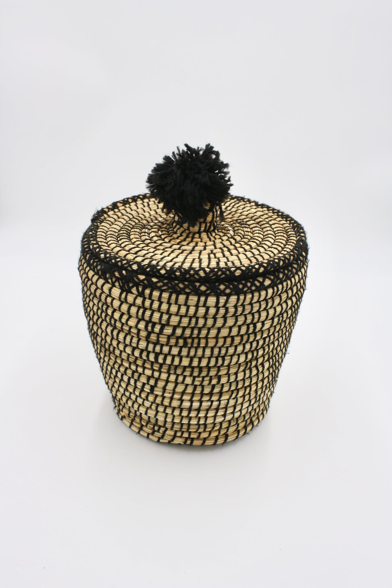 Black Moroccan Basket