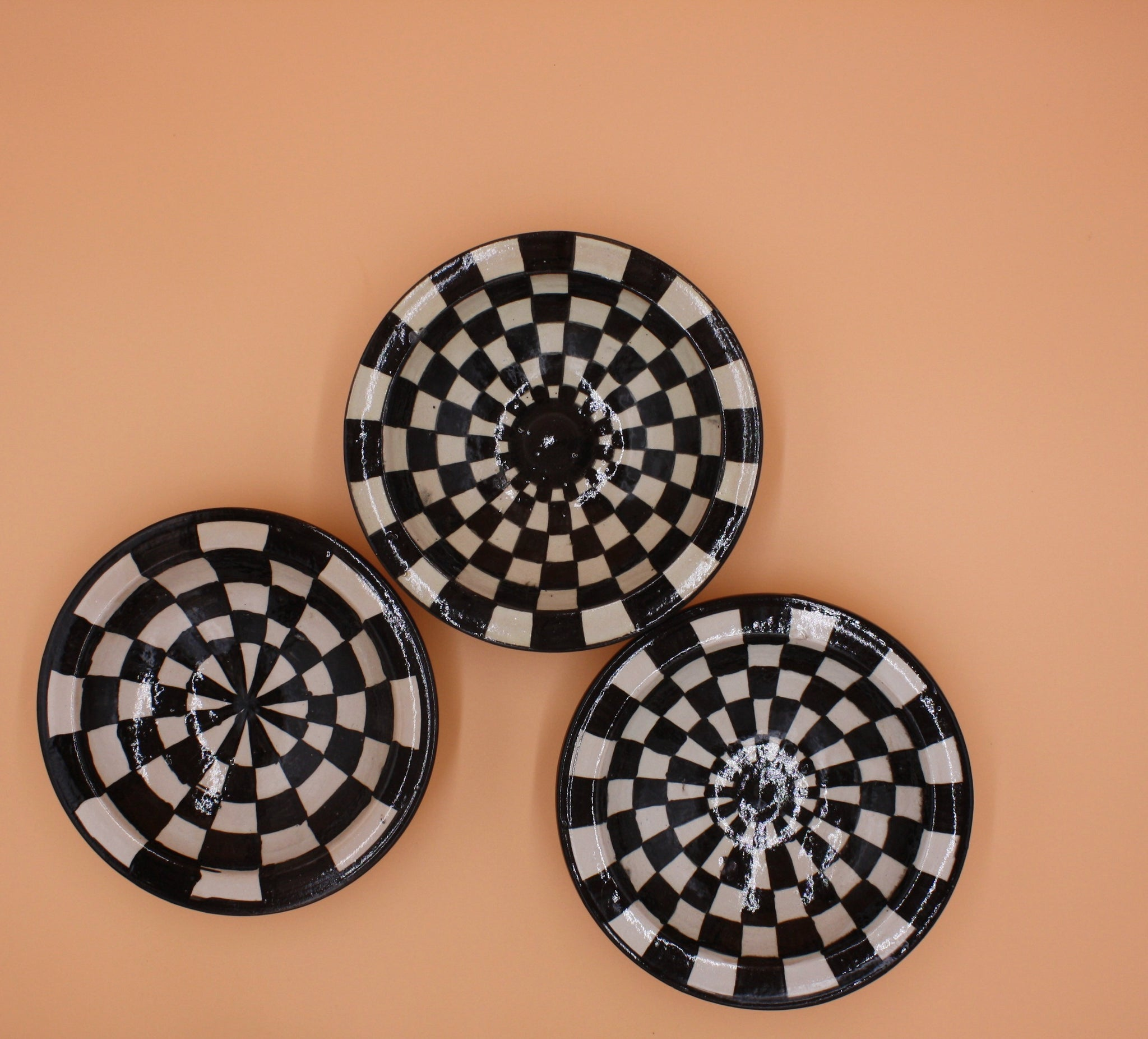 Black & White Geometric Tray