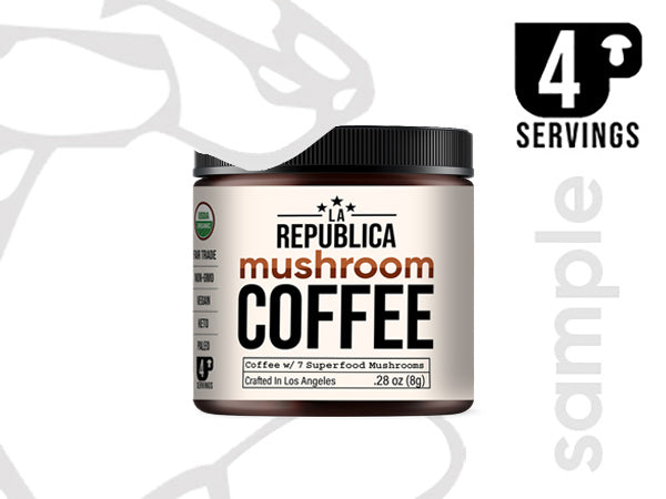 SAMPLE SIZE La Republica Mushroom Coffee