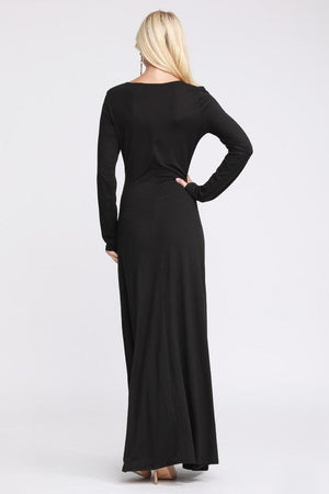 The Sleek & Sexy Maxi Dress
