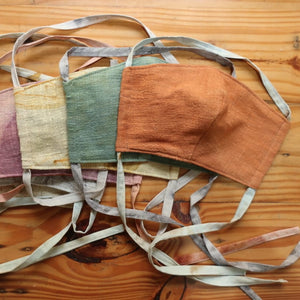3-Layered Natural-Dyed Cloth Face Mask