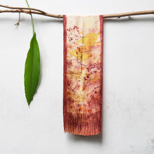 Load image into Gallery viewer, UMA Bundle-Dyed Petite Silk Scarf - Florescence