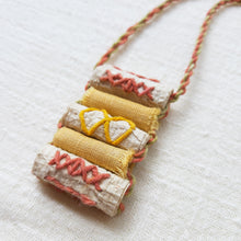 Load image into Gallery viewer, Euca-Béa Barkcloth Necklace