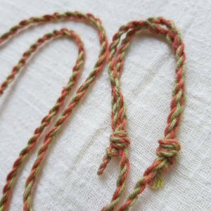 Euca-Béa Barkcloth Necklace