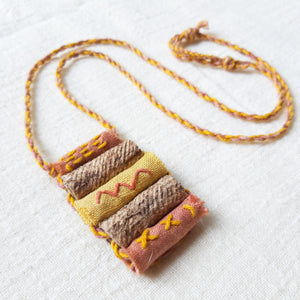 Euca-Tepulu Barkcloth Necklace