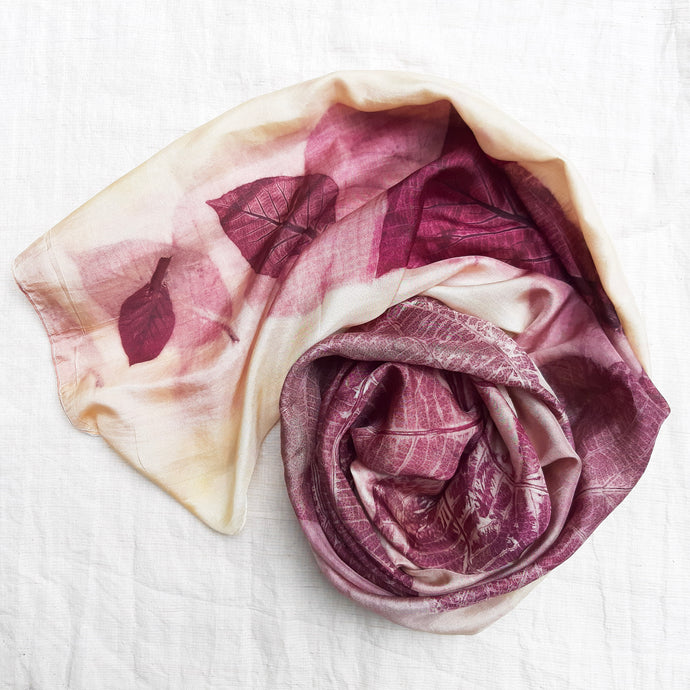 SEJATI - Plant-Dyed Scarf