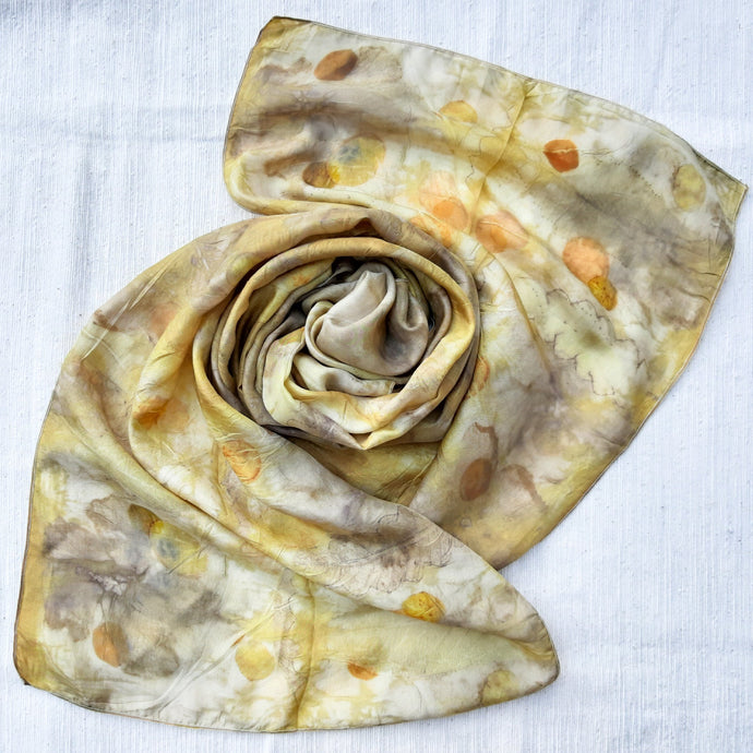 LEMBAH - Plant-Dyed Scarf