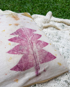 JOY | Plant-Dyed Cushion Cover - Cotton Calico