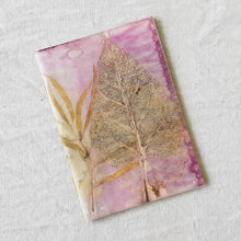 Load image into Gallery viewer, Plant-Dyed Journal | Spring Morning